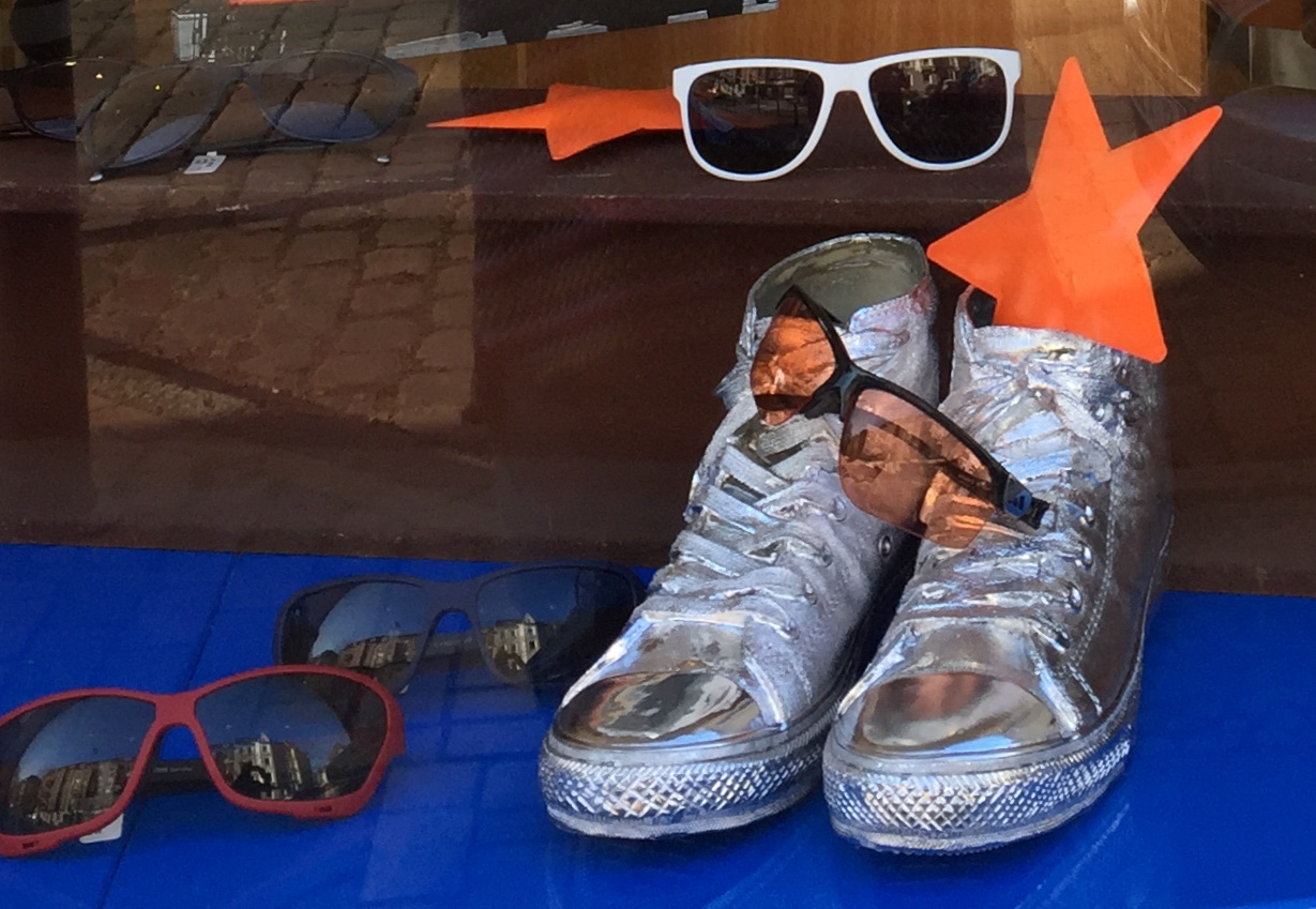 Silberne Schuhe statt silberne Medaille
